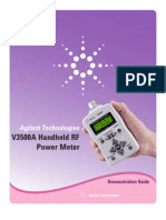 V3500a Handheld RF Power Meter Demo