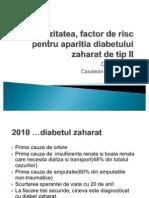 Obezitatea Factor de Risc Pentru Aparitia Diabetului Zaharat Tip 2 (1)