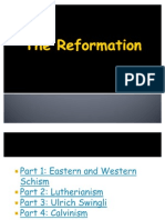 The Reformation and Counter Reformation