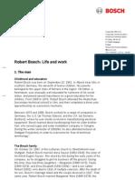 Robert Bosch - Life and Work