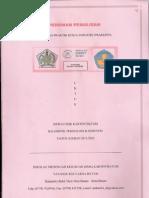 Pedoman Penulisan Laporan PKL