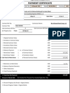 progress payment certificate sample, Invoice templates