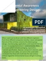 Environmental Awareness in Civil Engineering Designs