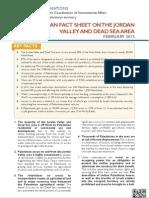 Ocha Opt Jordan Valley FactSheet February 2012 English