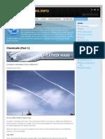 Chemtrails (Part 1) - Weatherwars-Info-