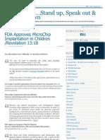 Mind Control - Microchip Implantation in Children - Revelation - Www Fdfny Org