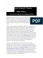 Classical Growth Theory-AfterMarx