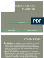 Site Selection and Planning- Climatology