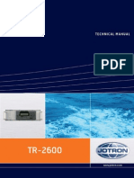 Technical Manual Tron Ais Tr-2600 420914