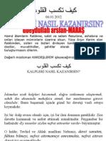 KALPLERİ NASIL KAZANIRSIN-ubeydullah arslan