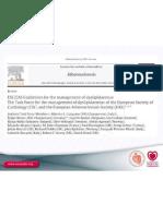 ESC EAS Guidelines for the Management of Dyslipidaemias -Slideset