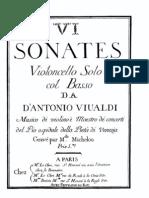 Vivaldi Cello Sonatas
