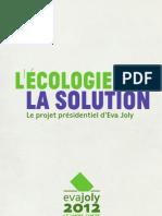 L'Écologie, la Solution