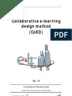 Collaborative E-learning Design Method
