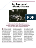 Luiz B. Da Silva, Robert C. Cauble and Stephen B. Libby- X-Ray Lasers and High-Density Plasma
