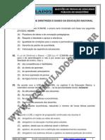 LDB - LEI DE DIRETRIZES E BASES DA EDUCAÃO NACIONAL - SIMULADO 2012