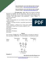 prova resolvida - trt 24ª região - 2011 - fcc