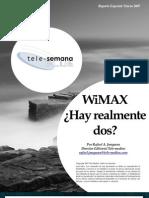 WiMAX Hay Realmente Dos
