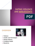 Dating Violence in Adolescents