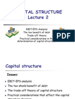 197.Capital Structure Lecture Gdansk 2006 Lecture 2