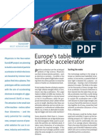 Europe's table-top particle accelerator