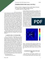 F. Gruner et al- Design Considerations for Table-Top FELs