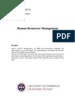 HR essay