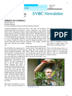 Spring is Coming, from SVBC Newsletter, Vol 2-No 1 (Aug 2007)