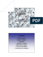 Aspirin PDF