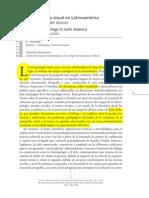 Antropología Visual en Latino américa - Andrade y Zamorano