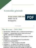 Cours Economie générale