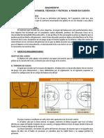 Apuntes Baloncesto 3º ESO