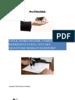 RoboSigner Report