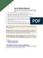 Interval Billing