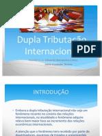 Dupla Tributação Internacional