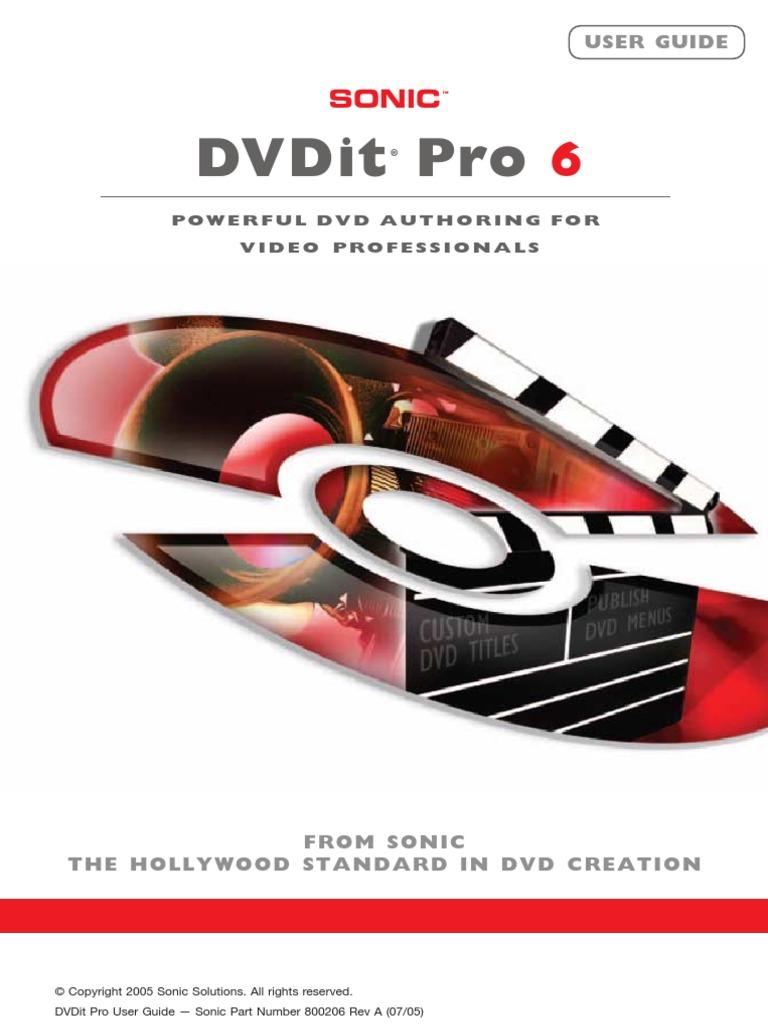 Sonic dvdit pro 6 review | alphr.