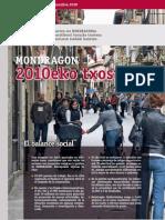 Balance Responsabilidad Social Mondragon 2010