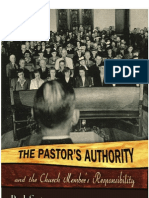 Pastors Authority & Members Responsibility