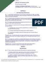 Decreto 32955 - Preservação de Água Subterrânea