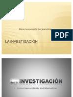 La Investigacion Como Herramienta Del Marketing