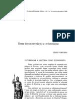 [5] Curso Realidade Brasileira - Celso Furtado - Entre Inconformismo e Reformismo