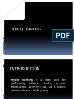 14343450 Mobile Banking Ppt