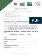 Lista de Verificacion CMIC Mexico