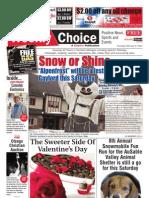 Weekly Choice - February 09, 2012