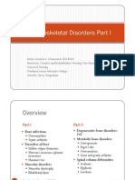 Musculoskeletal Disorders Part 1