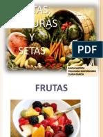 Frutas, Verduras, Hortalizas y Setas