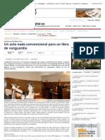 Un acto nada convencional para un libro de vanguardia — eldiadigital.es | Periódico Digital de Castilla la Mancha | Cuenca | Toledo | Albacete | Ciudad Real | Guadalajara