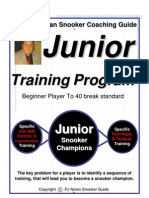 Snooker Coaching