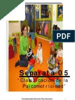 SEPARATA 05 COMUNICACIÓN Y EXPRESIÓN CORPORAL-DESARROLLO MOTOR