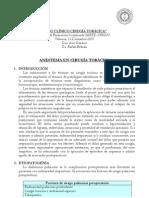 Anestesia en Cirugia Toracica